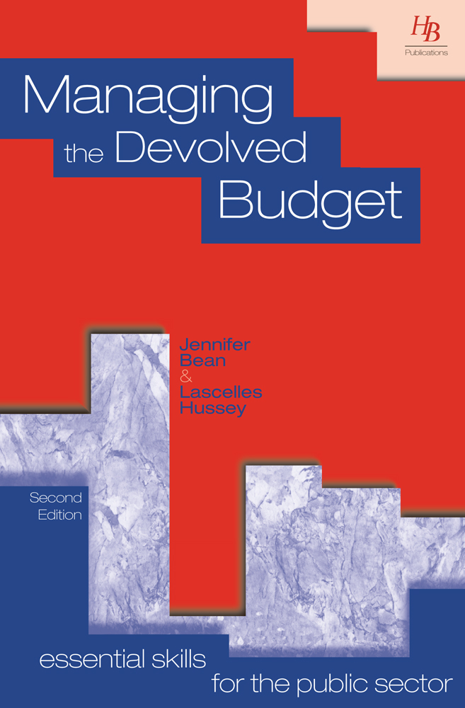 Managing the Devolved Budget 2nd Edition