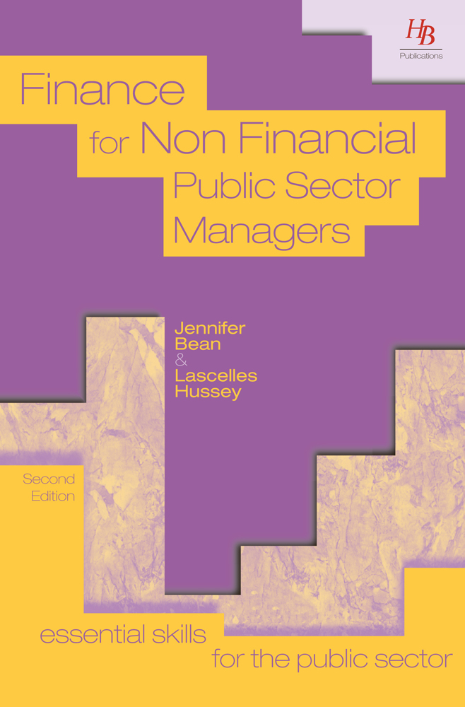 Finance for Non-financial Public Sector Managers 2nd Edition