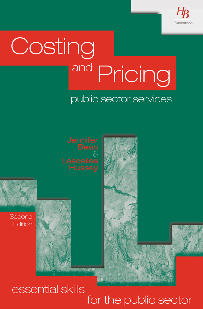 Costing and Pricing Public Sector Services 2nd Edition