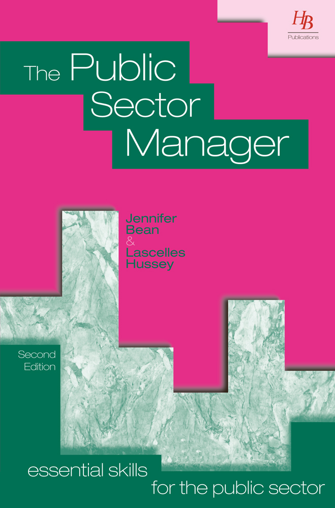The Public Sector Manager 2nd Edition
